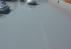 ウレタン塗膜防水完了