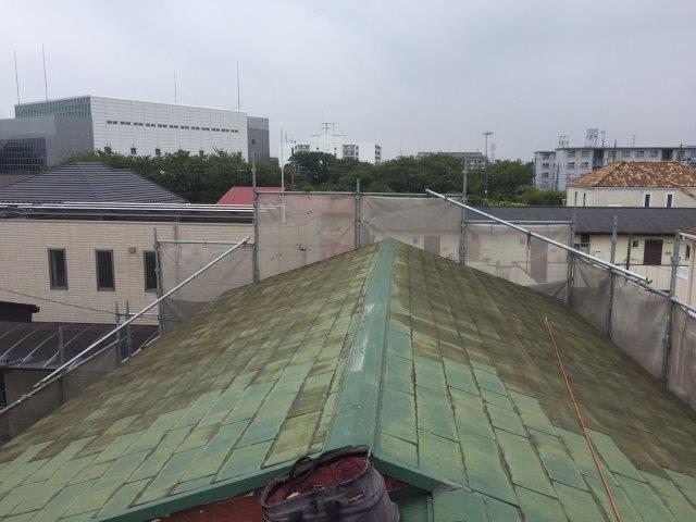 屋根工事before